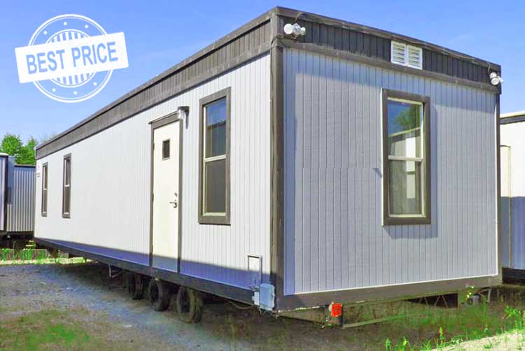 Mobile office trailer rental in Texas