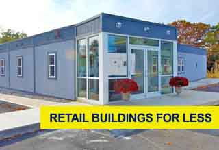 Prefab Retail Buildings