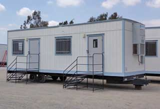 Auto Dealer Office Trailers