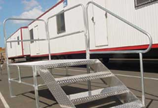 rent an office trailer in Texas